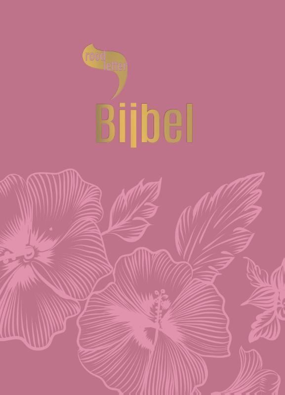 9789065394552-Roodletterbijbel-Roodletterbijbel-design-bloemen