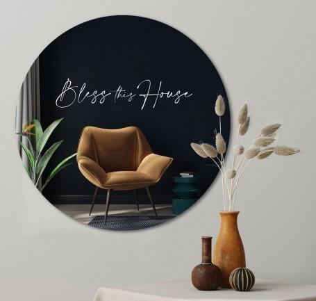 muurcirkel-bless-this-house-60-cm