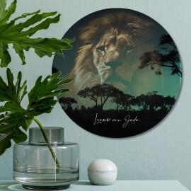 muurcirkel-leeuw-van-juda-30-cm